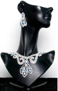 Divina Divas Pageant Jewelry Necklace and Earrings Set IV - CrownDesigners