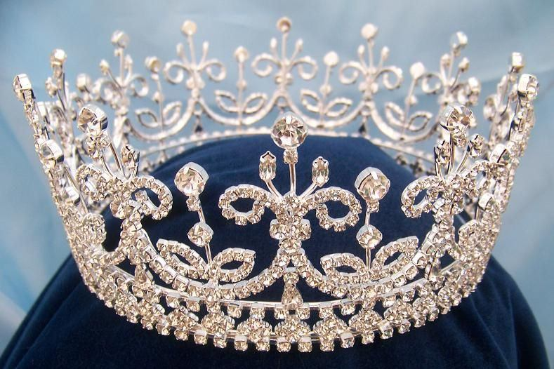 Daughters of Ireland and Britain Full rhinestone Crown, CrownDesigners