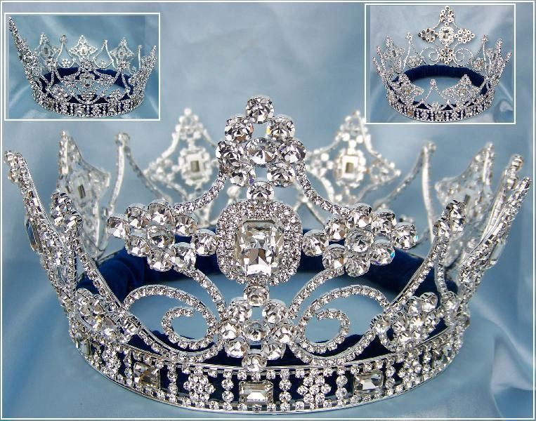 Empire Regal Crown Silver UNISEX FULL Men's Crown, CrownDesigners