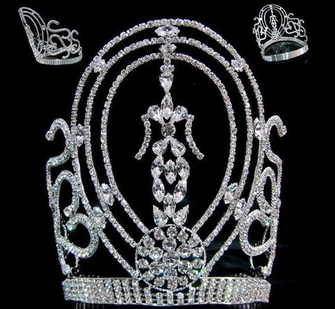 Miss Beauty Pageant Rhinestone Crown - CrownDesigners