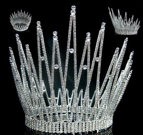 Miss Beauty Queen Pageant Crown Tiara - CrownDesigners