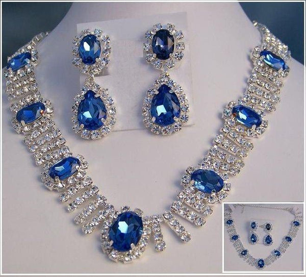 Deauville Beauty Pageant Queen Princes Rhinestone Necklace