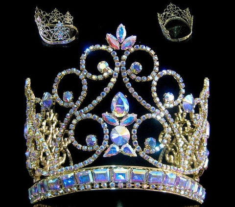 Northern Lights Imperial AB Gold Adjustable  Crown - CrownDesigners
