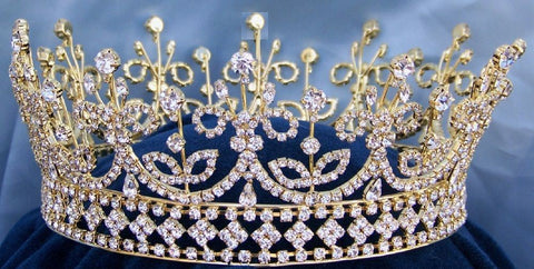 Daughters of Ireland and Britain Full Rhinestone Crown - CrownDesigners