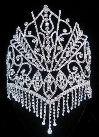 The Stars of the Nile Rhinestone Beauty Pageant Queen Crown, Tiara - CrownDesigners