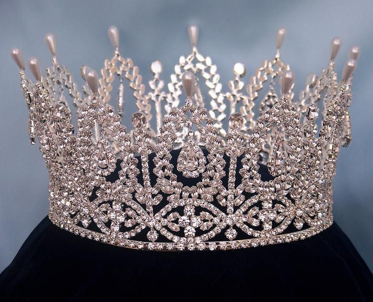 Andalucia Palace Full Rhinestone Crown, CrownDesigners