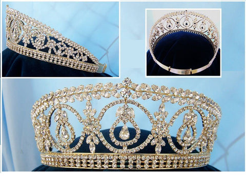 Duchess Royal Gold Crown Tiara Windsor - CrownDesigners