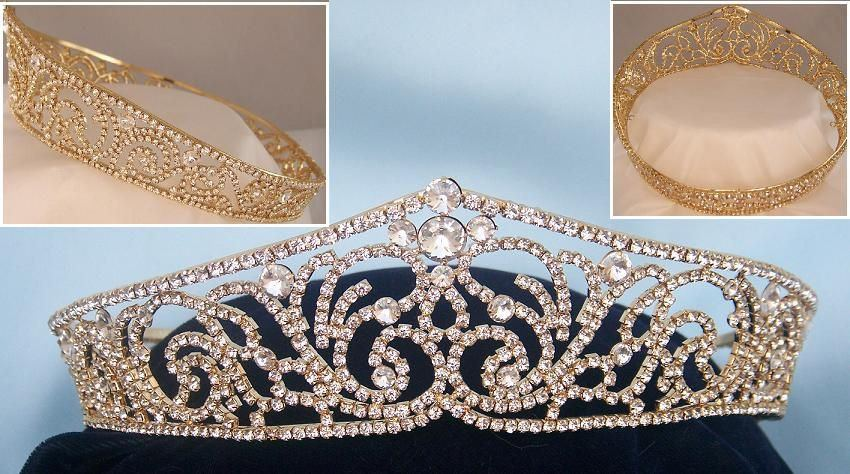 Russian Duchess Gold Marie Style, CrownDesigners