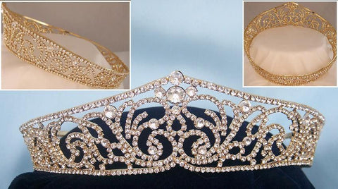 Russian Dutchess Gold Marie Style - CrownDesigners