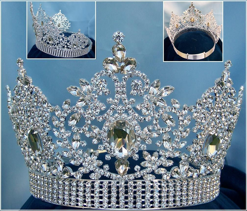 Adjustable Fairy Tale Beauty Queen Rhinestone  Crown, CrownDesigners