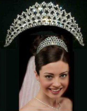 Irish Garland BRIDAL Crown Tiara, CrownDesigners