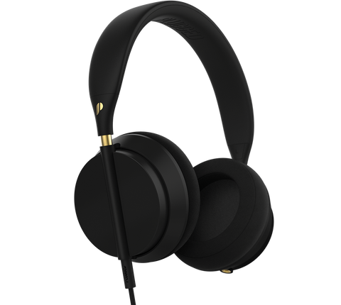 Plugged - Crown Black/Gold Headphones