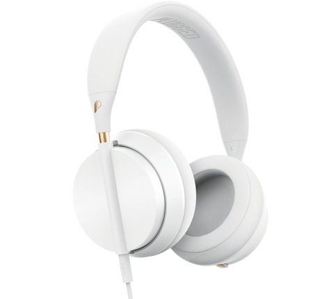 Plugged - Crown White/Rose Headphones