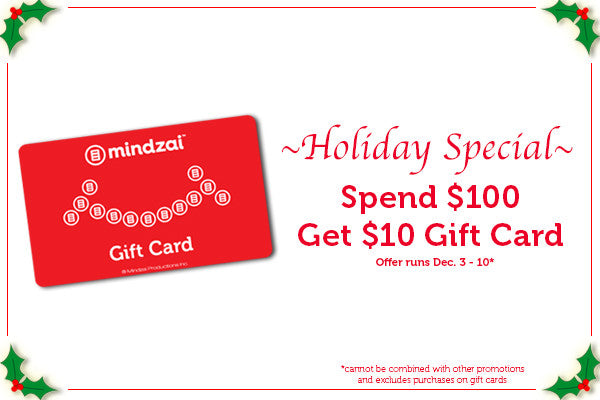 Holiday Special - Spend $100 Get $10 gift card