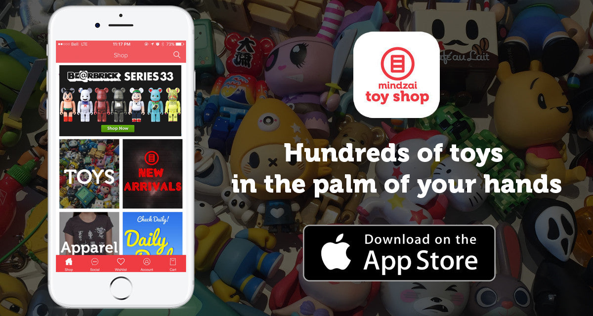 Mindzai Toy Shop App for iPhone