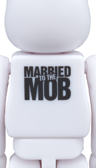 Married To The Mob 100% Bearbrick by MTTM x Medicom Toy