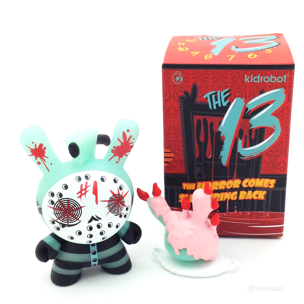 The 13 GID Dunny Series - Mad Butcher GID (Chase) #1