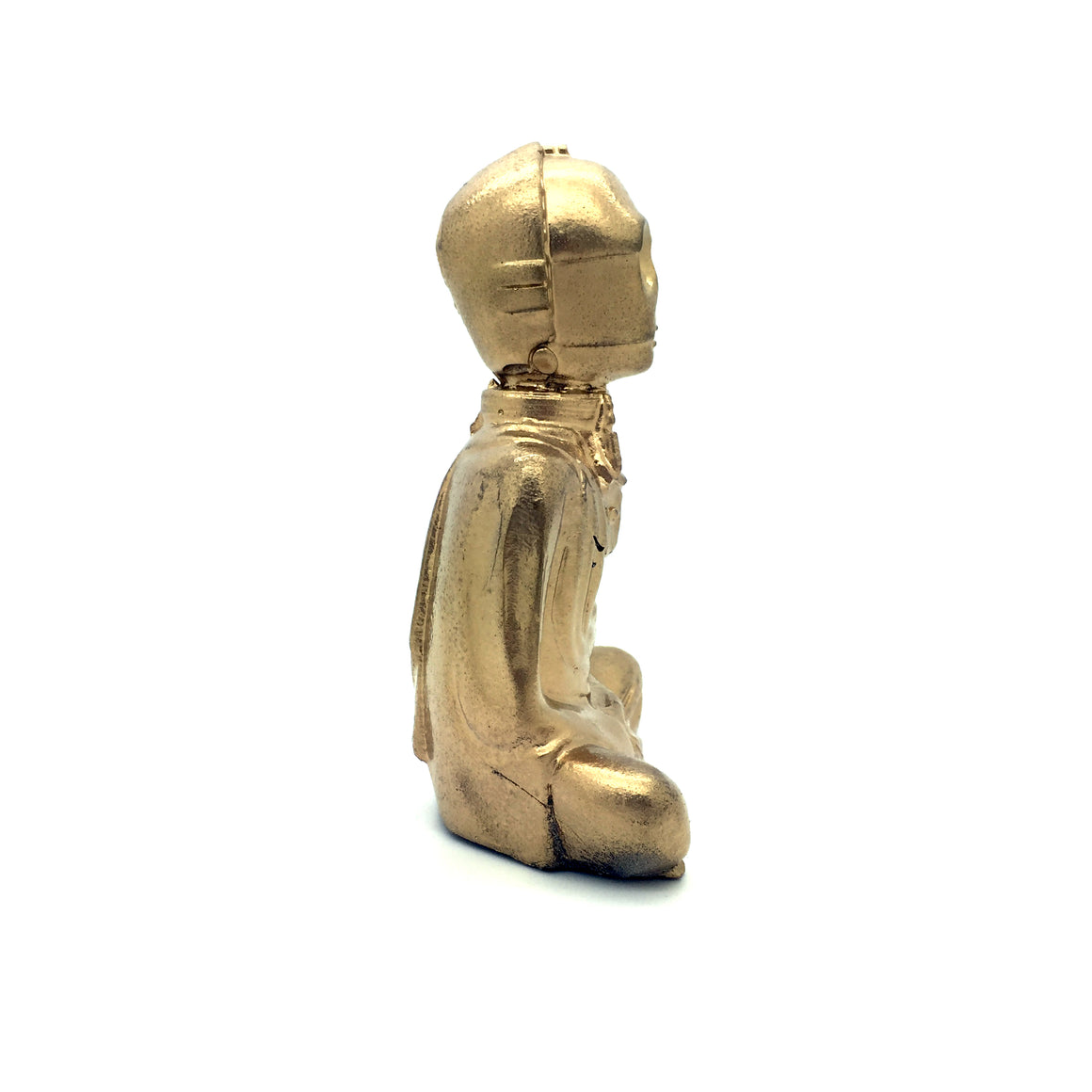 "Gold C-3P0 Buddha 4"" Figure by Modulicious"
