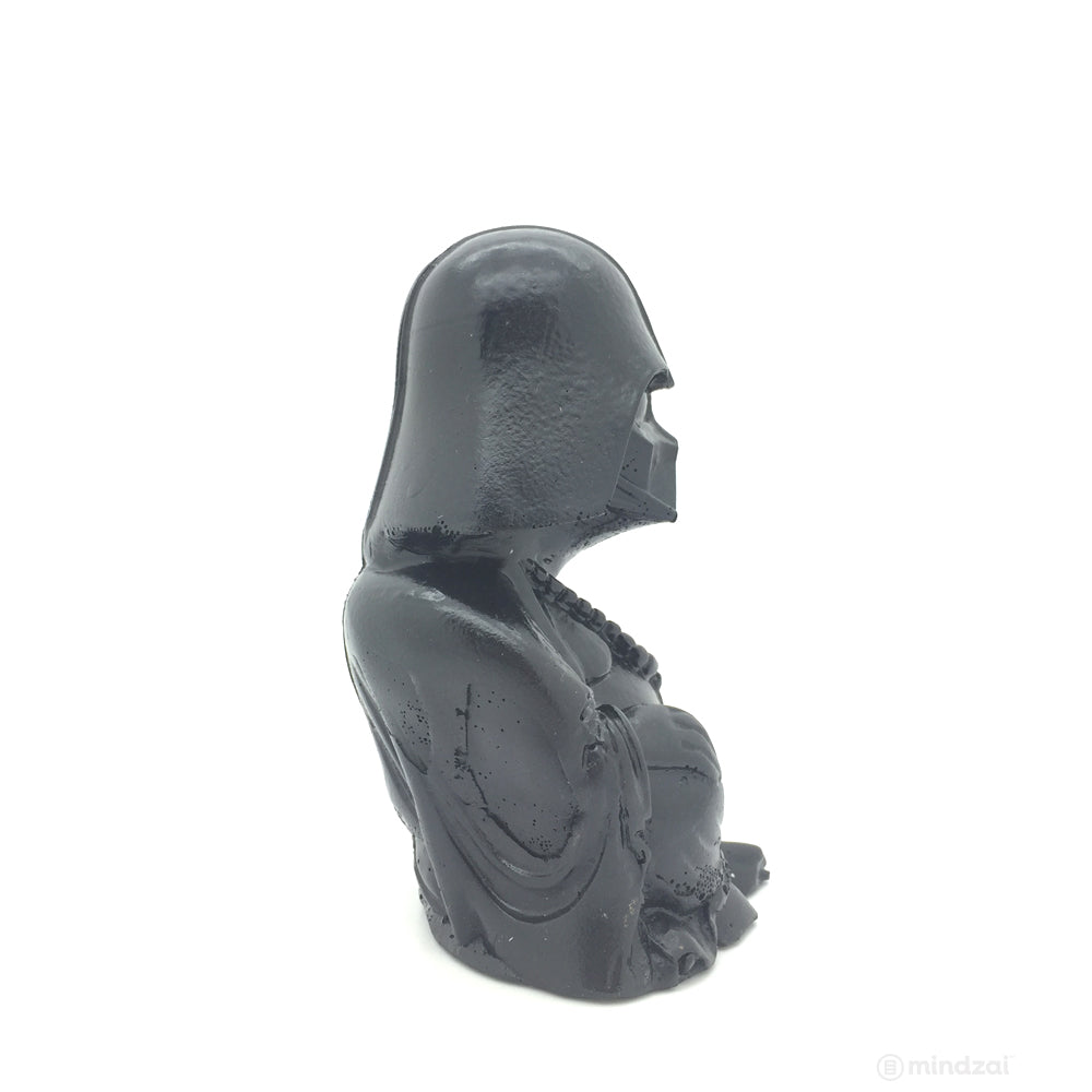 "Darth Vader Buddha Gloss Black 4"" Figure by Modulicious"