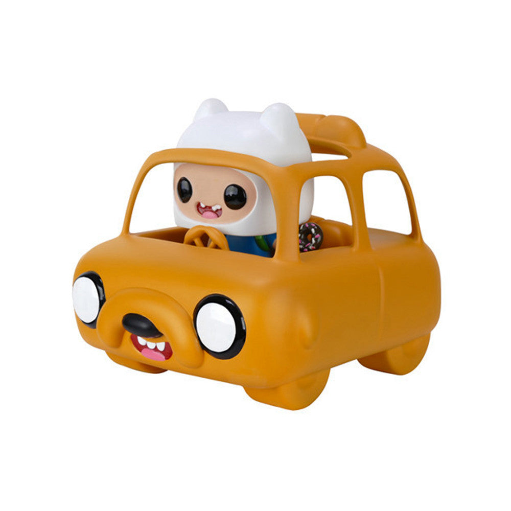 Pop Rides Adventure Time Jake Car and Finn Vinyl Figure by Funko - Mindzai