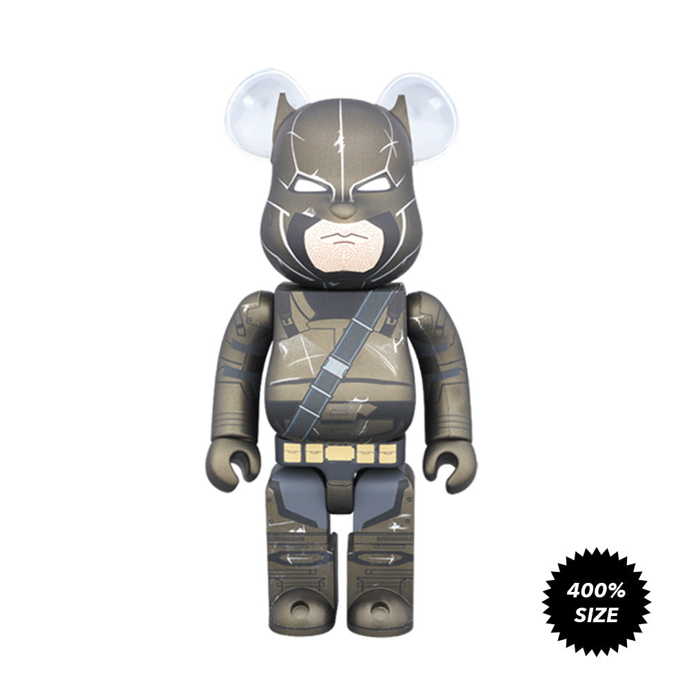 Armored Batman Dawn of Justice 400% Bearbrick - Mindzai