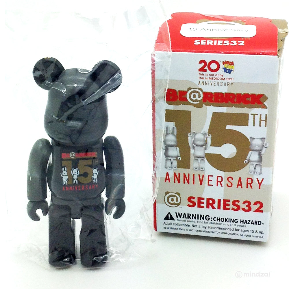 14613af0 Bearbrick Series 32 - Bearbrick 15th Anniversary (Secret) (1/192 ...