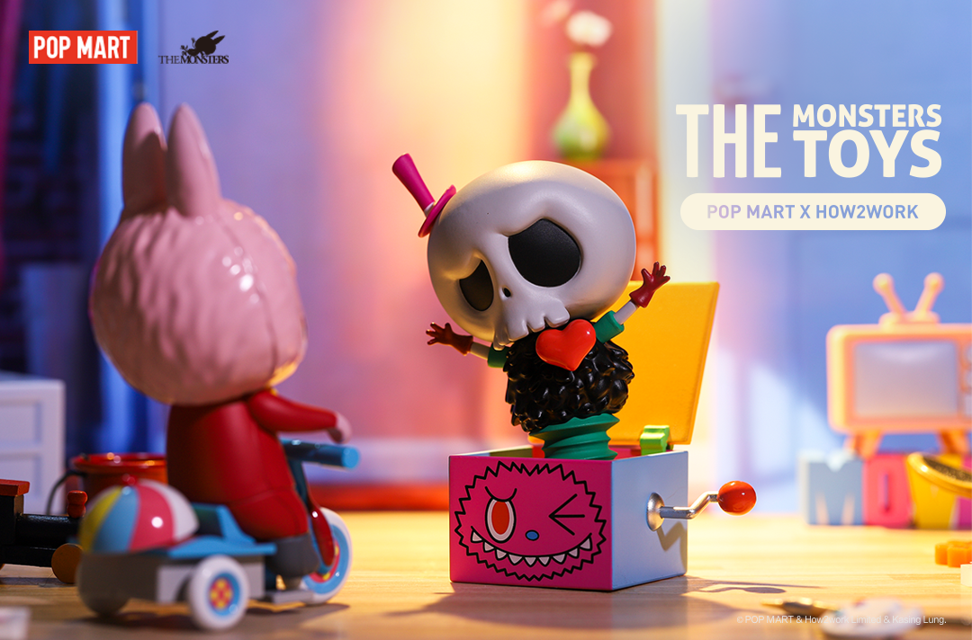 The Monsters Toys Series Blind Box by POP MART x How2work x Kasing Lung