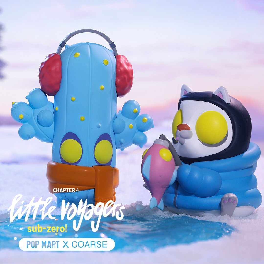 *Pre-order* Little Voyagers - Sub Zero Mini Series by Coarse x POP MART