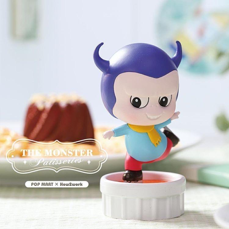 The Monster Patisseries Labubu Desserts Blind Box by POP MART x Kasing Lung
