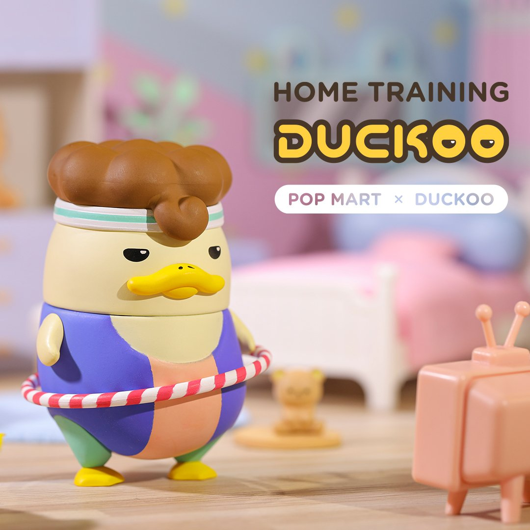 Home Training Duckoo Blind Box Series by Chokocider x POP MART