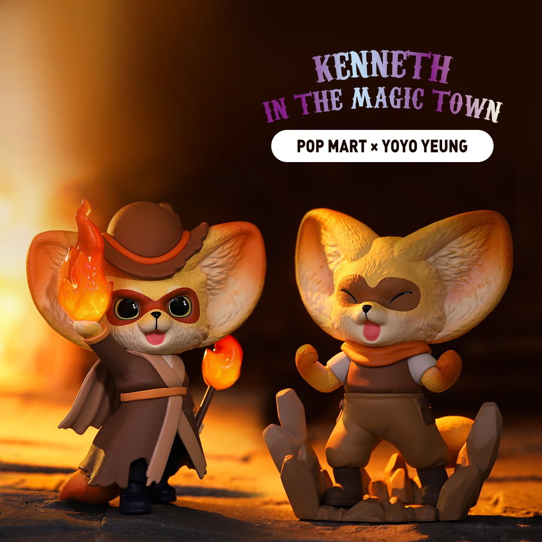 *Pre-order* Kenneth in Magic Town Blind Box Series by Yoyo Yeung x POP MART