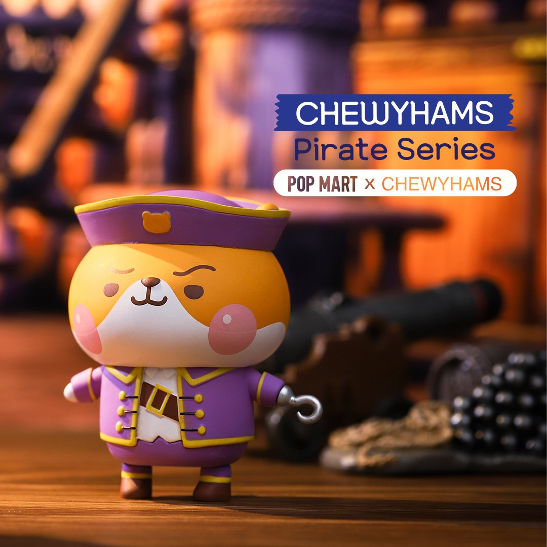 *Pre-order* Chewy Hams Pirate Blind Box Series by Funi x POP MART