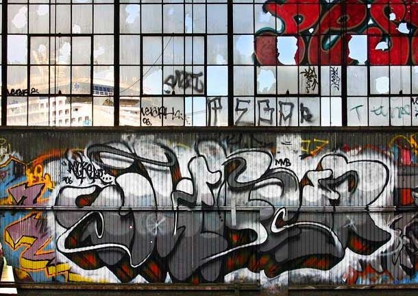 Bay Area Graffiti by Steve Rotman & Chris Brennan - Mindzai  - 1
