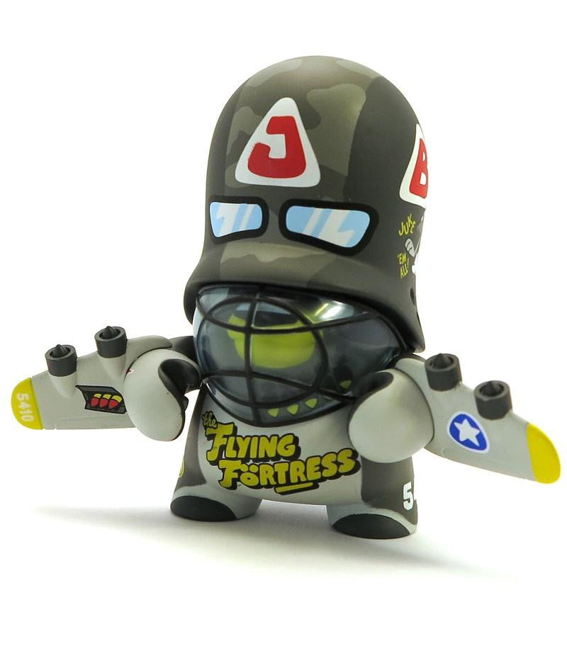 Teddy Troops 2.0 Series 1 - Green Flying Fortress Trooper