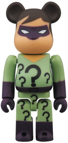 DC Super Powers Riddler San Diego Comic-Con 2013 100% Bearbrick