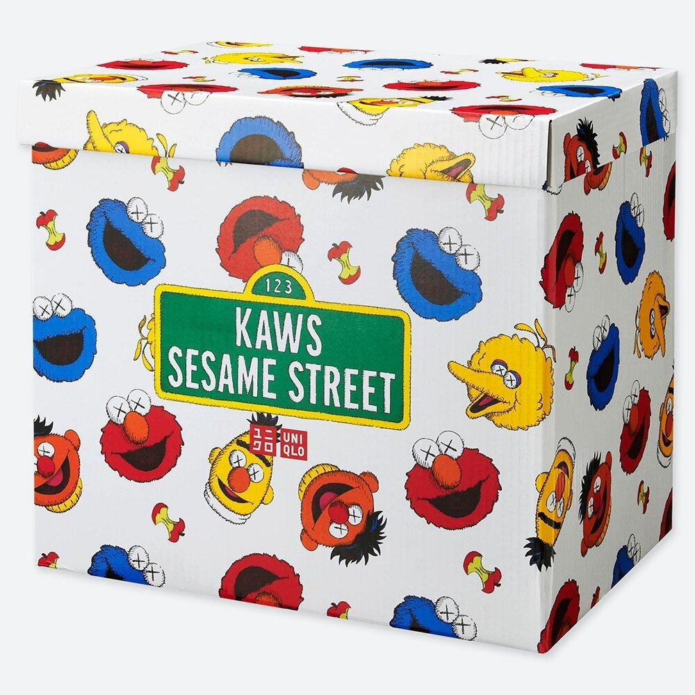 Kaws x Sesame Street x Uniqlo Complete Toy Box Set