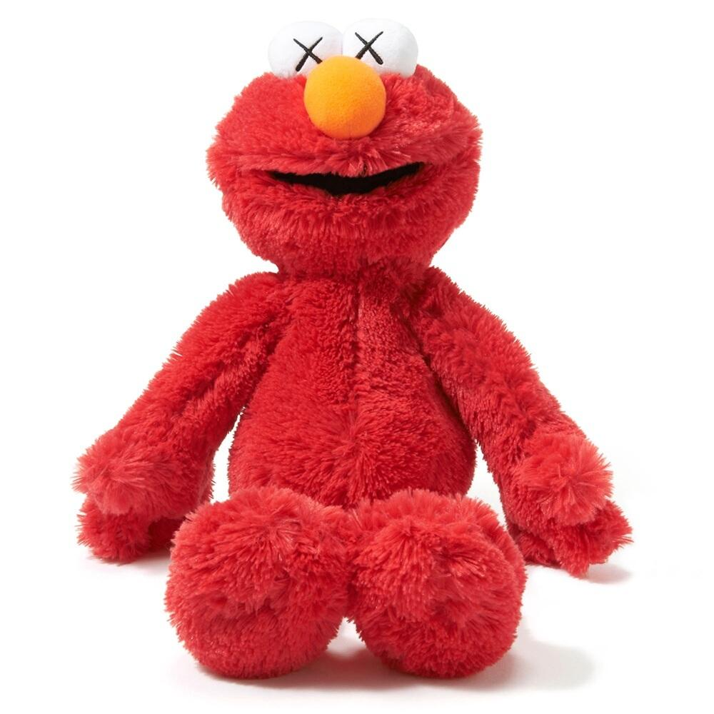 Elmo Kaws x Sesame Street x Uniqlo Plush Toy