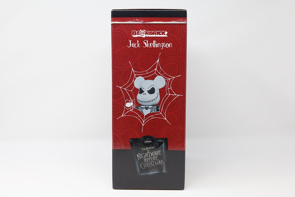 Disney's The Nightmare Before Christmas: Jack Skellington 100% + 400% Bearbrick Set by Medicom Toy