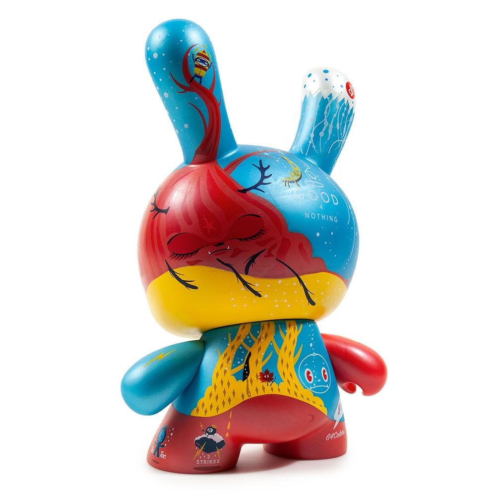 Good 4 Nothing 8-Inch Dunny Toy by 64 Colors x Kidrobot - Special Order
