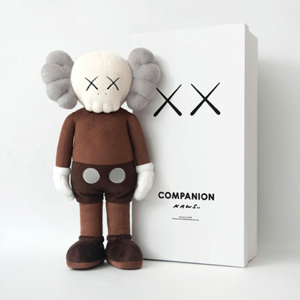 Kaws Brown Companion Plush by Kaws x Lane Crawford