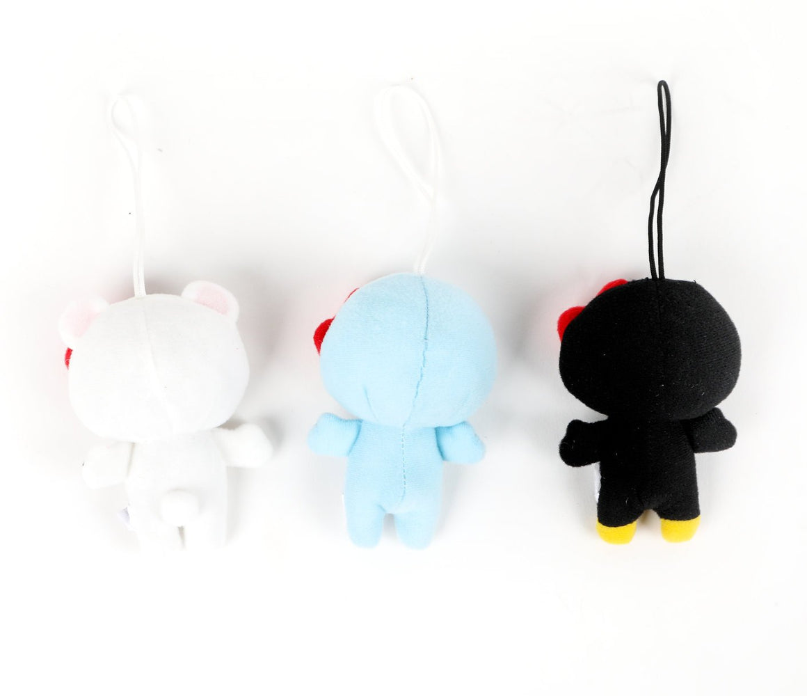 Winter Animals Hello Kitty Plush Ornaments