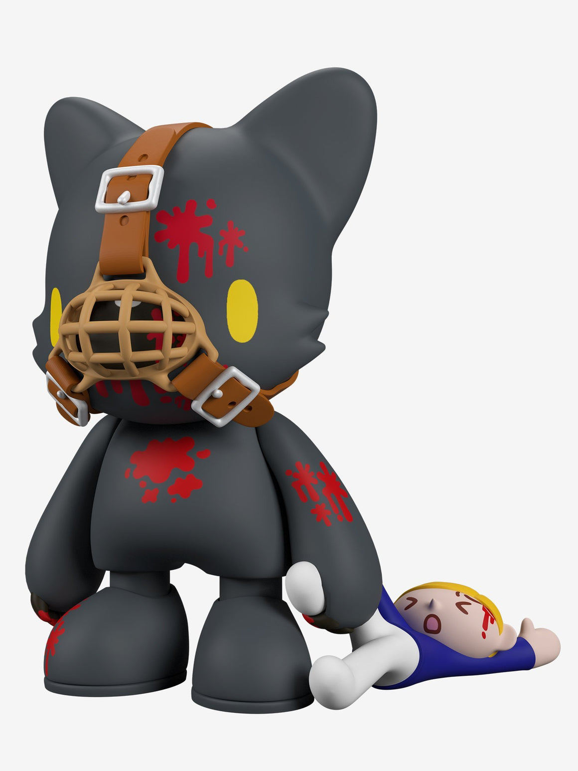 *Pre-order* Gloomy in Black SuperJanky by Mori Chack x Superplastic