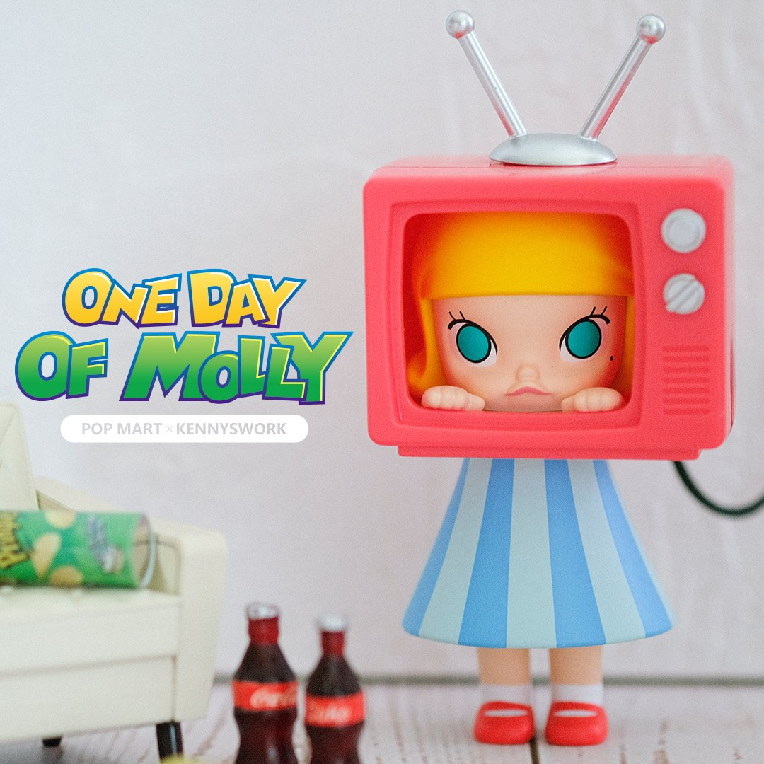 *Pre-order* One Day of Molly Blind Box Series by Kennyswork x POP MART