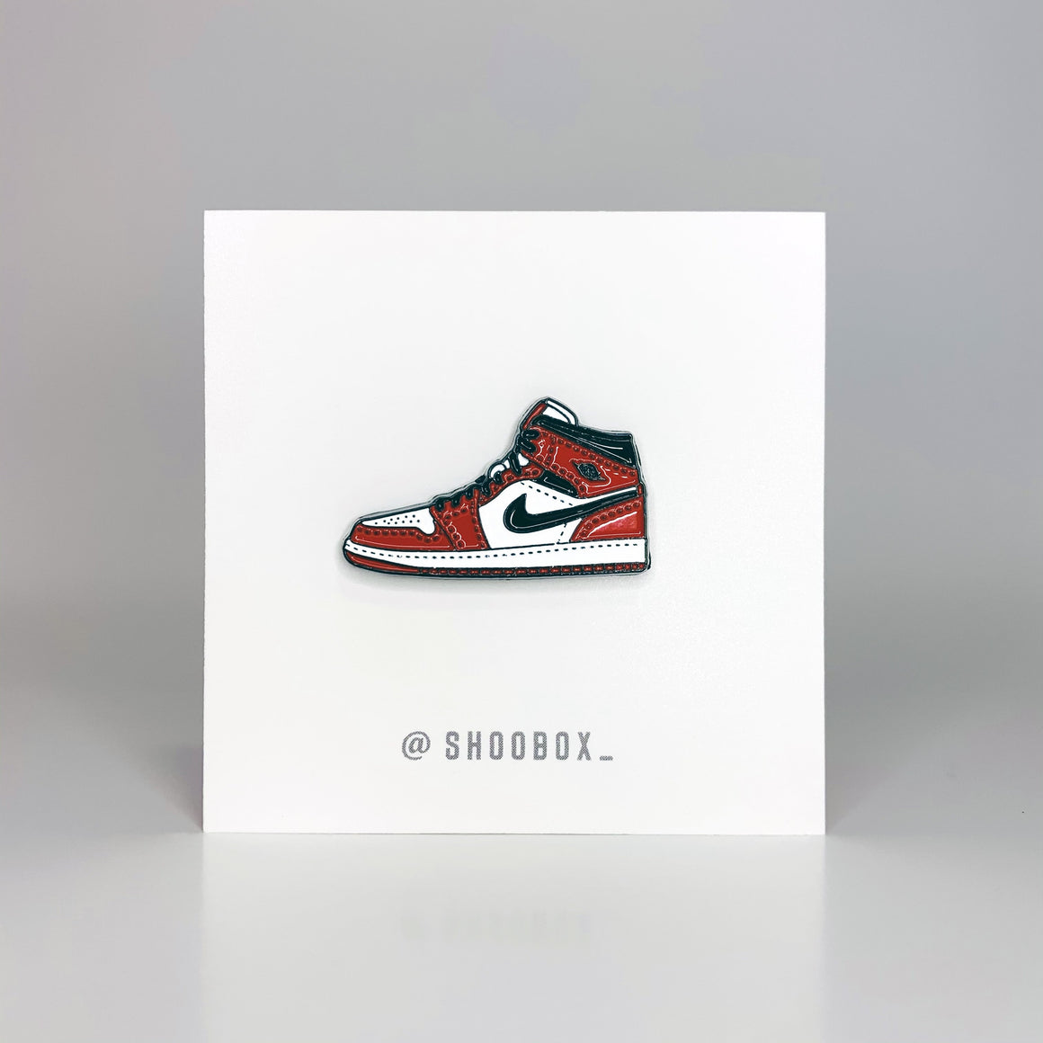 AJ1 Chicago Soft Enamel Pin by Shoobox