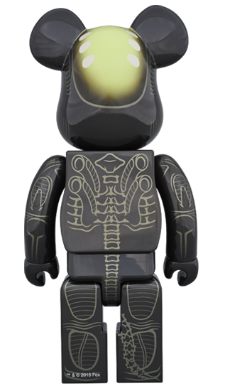 Alien 1000% Bearbrick by Medicom Toy - Pre-order - Mindzai  - 1