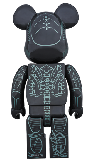 Alien Warrior 1000% Bearbrick by Medicom Toy - Pre-order - Mindzai  - 1