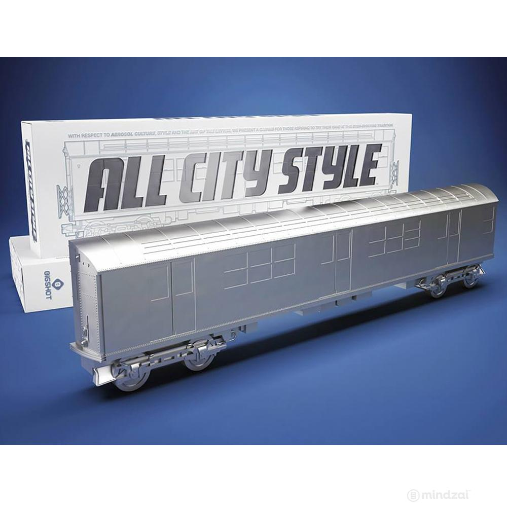 All City Style DIY Blank Train - White Edition