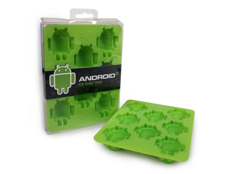 Android Silicon Ice Cube Tray - Mindzai  - 1