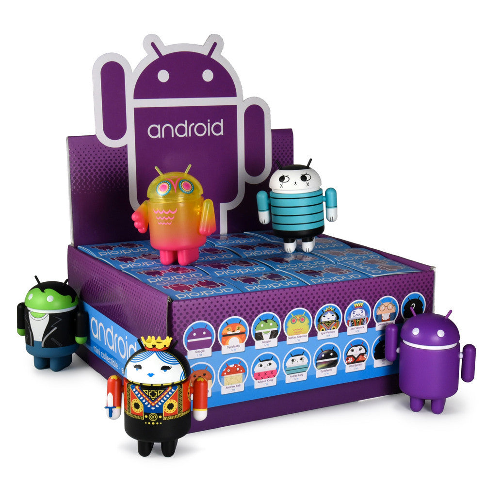 Android Series 6 Blind Box Mini Collectibles