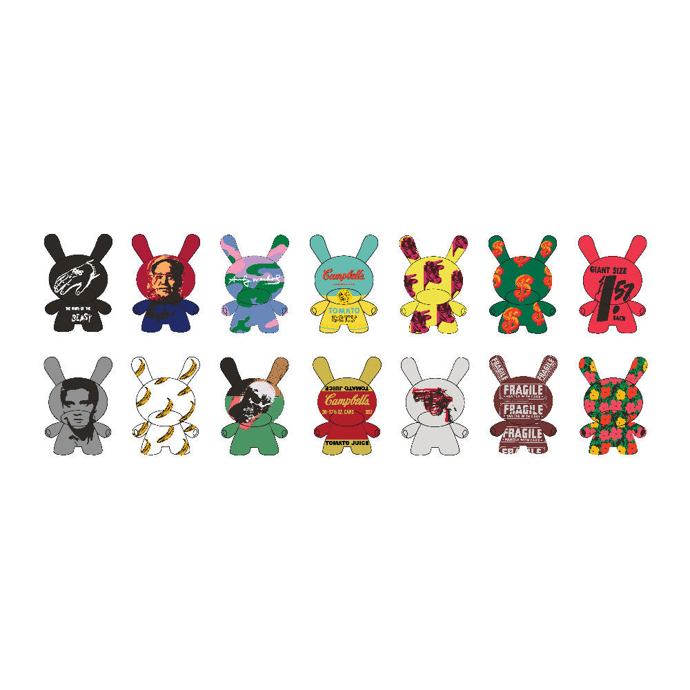 Warhol Mini Dunny Series 2.0 Blind Box by Andy Warhol x Kidrobot - Pre-order - Mindzai